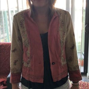 LUCKY BRAND single Button light jacket / blouse